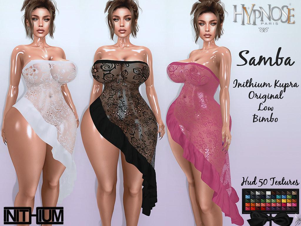 HYPNOSE – SAMBA DRESS INITHIUM KUPRA