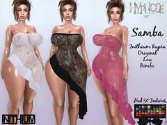 HYPNOSE - SAMBA DRESS INITHIUM KUPRA