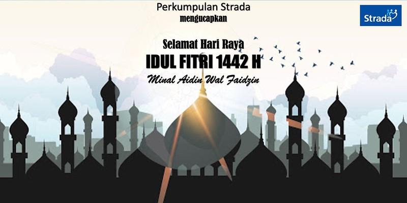 Ucapan Selamat Idul Fitri 1 Syawal 1442 H