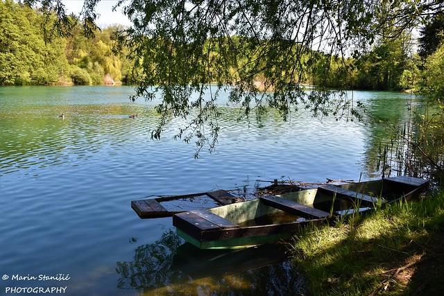 Springtime afternoon on river Mrežnica - Belavići, Croatia