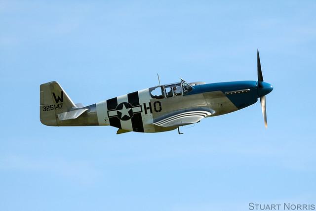 P-51C Mustang 43-25147 - N487FS Princess Elizabeth - Comanche Fighters