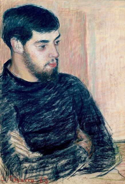 Portrait de Lucien Pissarro (C Pissarro)