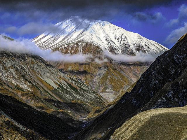 Leaving the High Caucasus