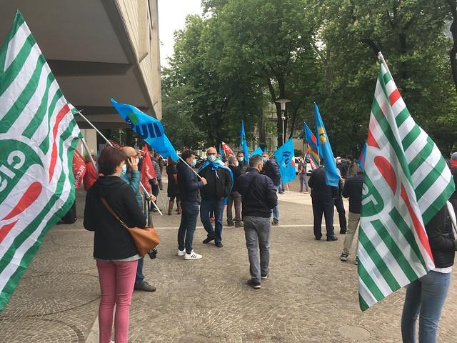 manovra provinciale anticrisi – presidio unitario mercoledì 12 maggio ore 9 in piazza Dante
