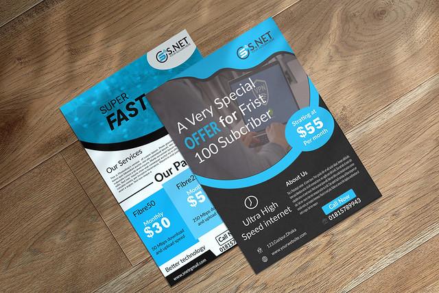 Net flyer