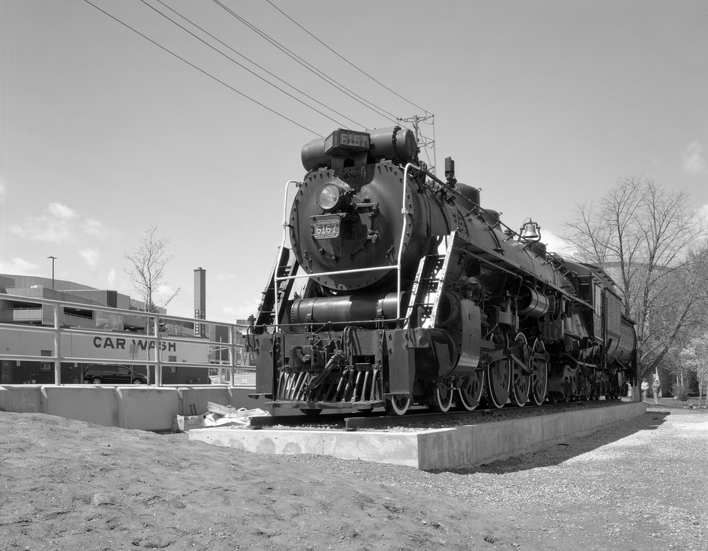 Canadian National Locomotive 6167