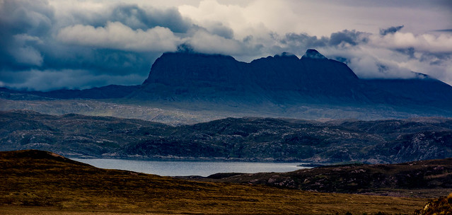 Suilven clearing, North West Highands of Scotland