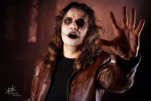 Sotiris P. as The Crow by SpirosK photography (II: Desperate)