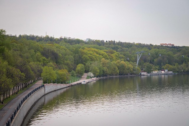 Moscow walks. Spring colors