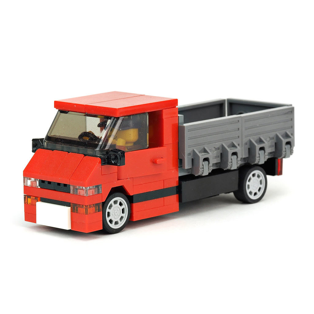 Small red truck