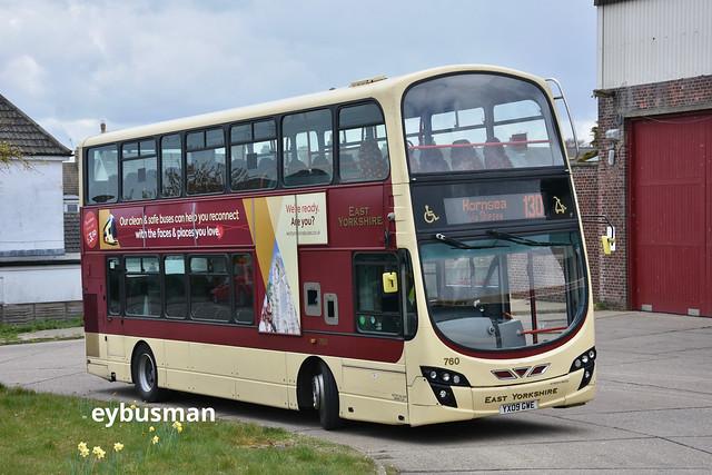 East Yorkshire 760, YX09GWE.