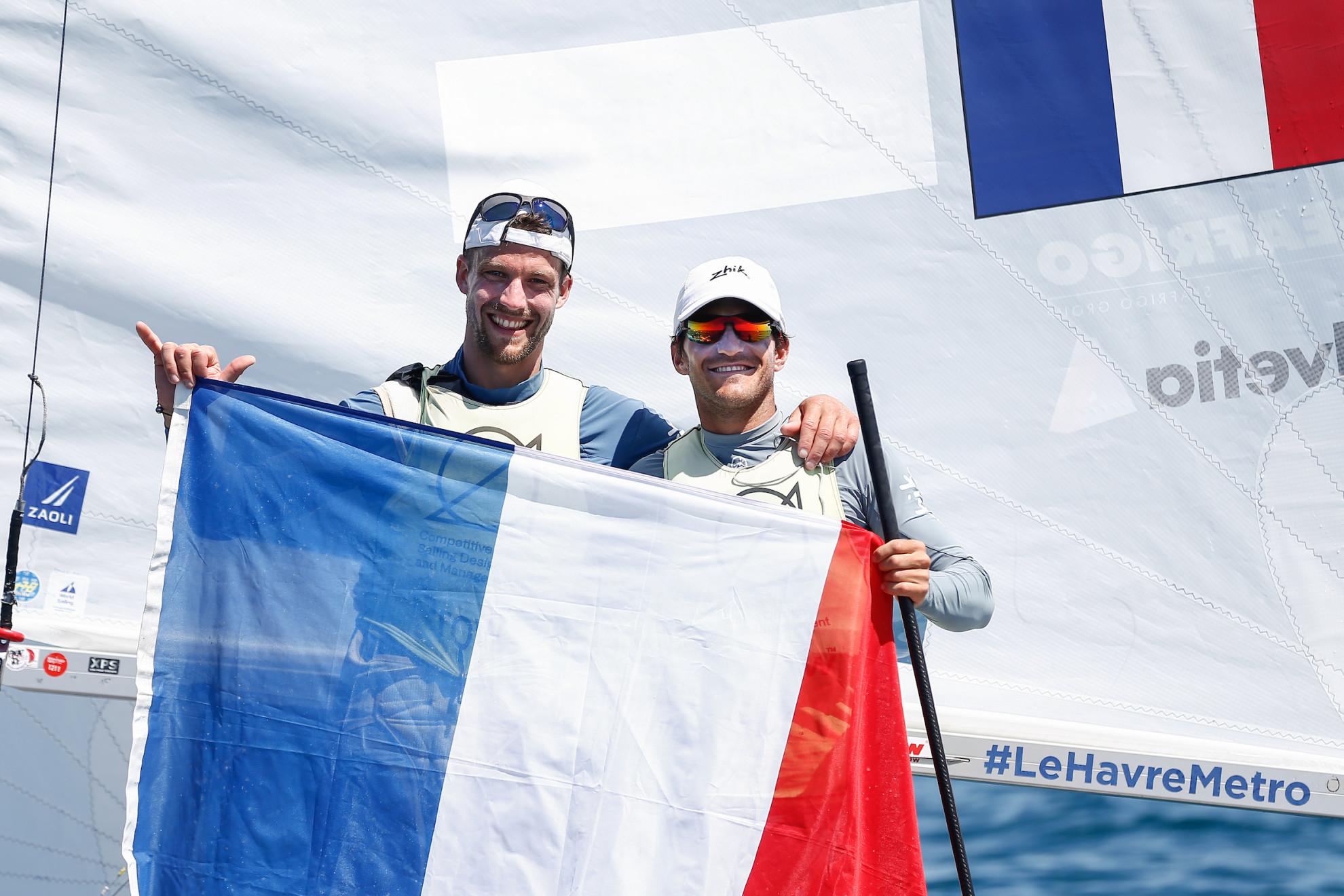 Kevin Peponnet et Jérémie Mion - 470