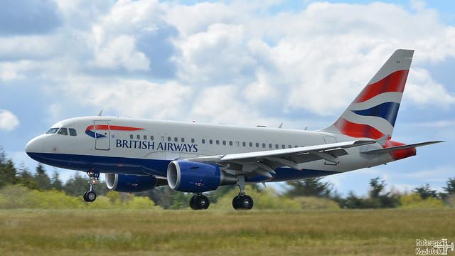 British Airways 🇬🇧️ Airbus A318-100 G-EUNA