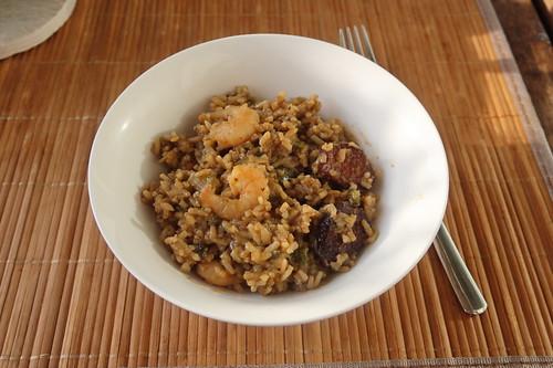 Jambalaya (meine Portion)