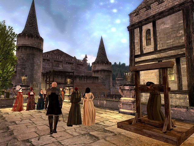 Burgundy In Blood - The Town Friar Made the Evening Stockade