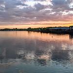 Tonights sunset over Preston Docks