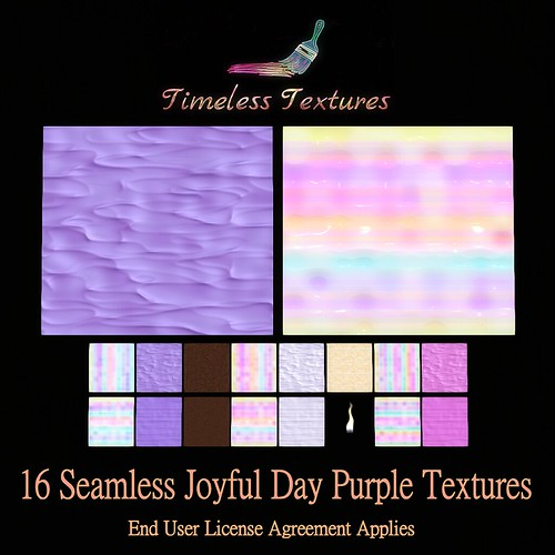 TT 16 Seamless Joyful Day Purple Timeless Textures