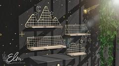 Elm - Kaia Metal Shelves - Collabor88