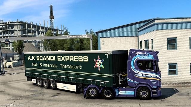 Scania 650S w/ A.K SE Krone