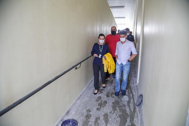 12.05.21 - David Almeida pede celeridade para conclusão de obras em UBS na zona Leste