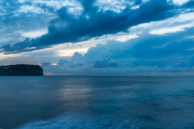 The Blues - Cloudy Seascape