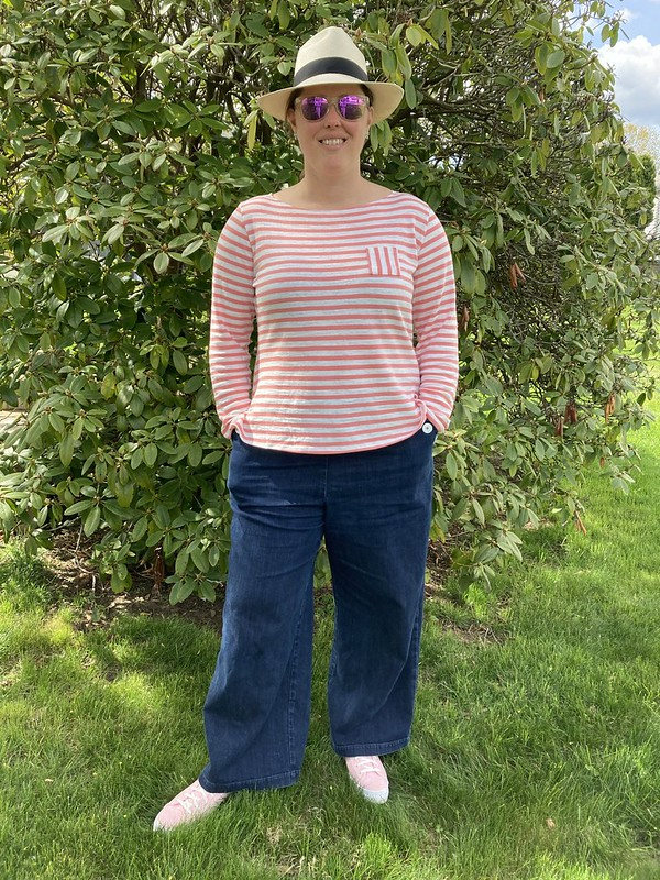 Coco Top + A Spring Outfit Progress Report!