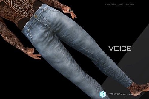 ((VOICE)) Skinny jeans (gianni)