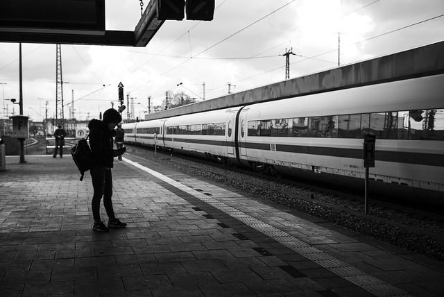 blur @ central station, Düsseldorf