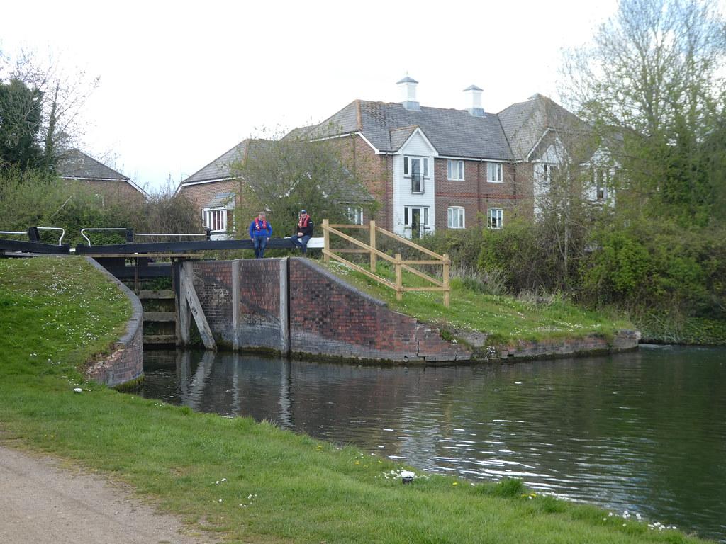 Aldermaston Lock, Kennet & Avon Canal