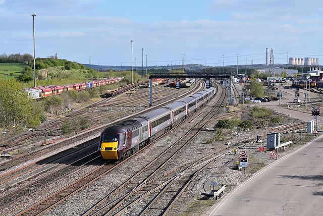 HST at Toton