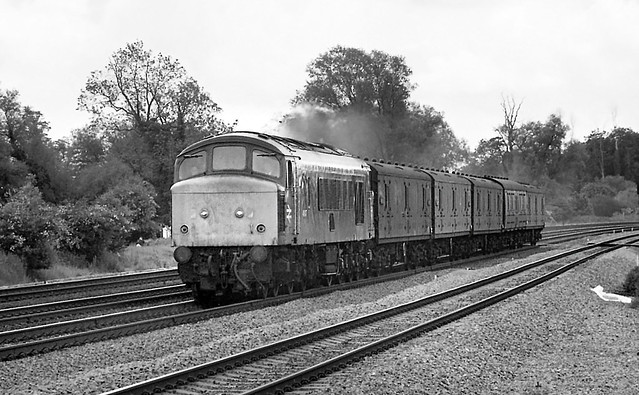 Class 46 46047, Offord Cluny - 26 May 1981