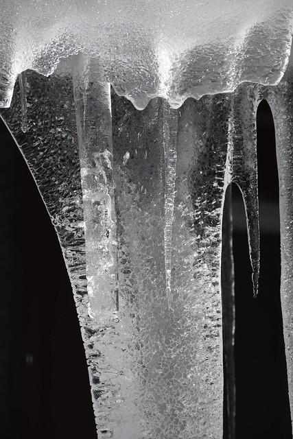 Icicle, detail
