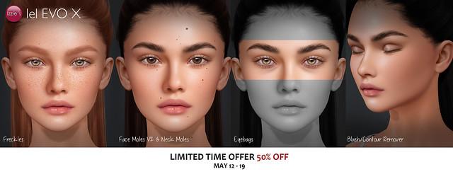 Evo X Freckles, Moles, Eyebags & Blush/Contour Remover