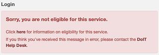 IneligibleforService