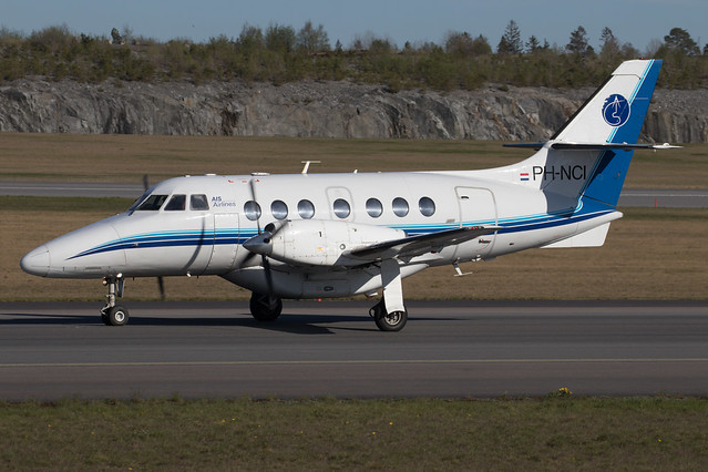 AIS Airlines British Aerospace BAe-3201 Jetstream 32EP PH-NCI 210512 ARN