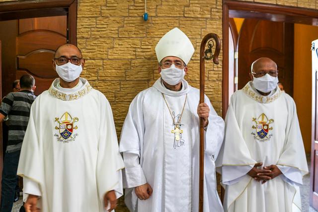 Jubileu de Prata Sacerdotal do Padre Jair, pároco da Paróquia Nossa Senhora Aparecida – Cocaia