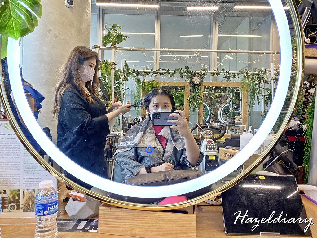 Walking on Sunshine Orchard Central-Hair Treatment Singapore