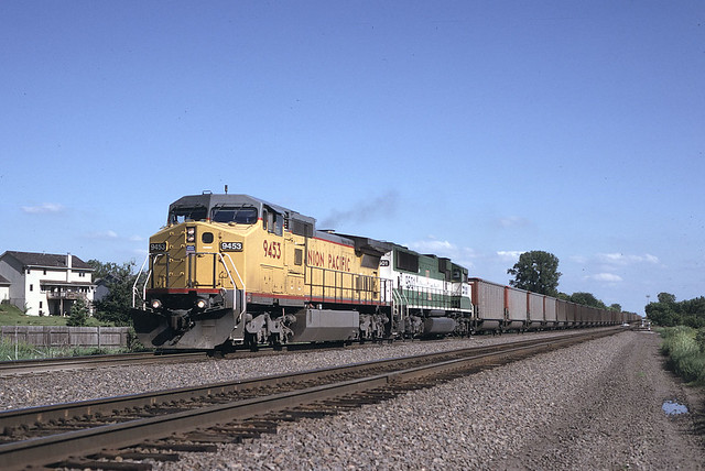 UP 9453, Omaha (Lane), NE
