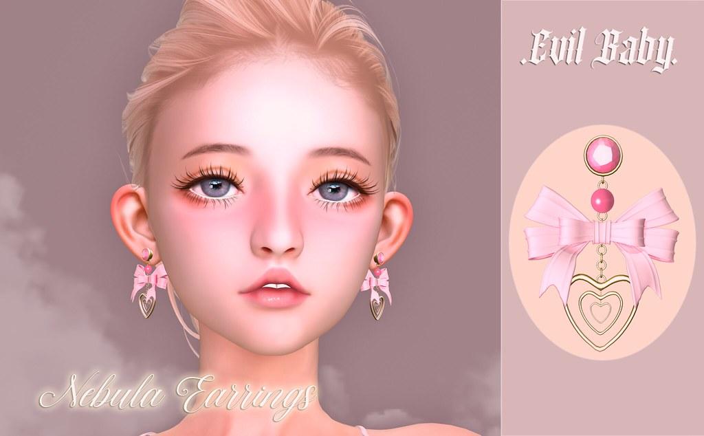 .Evil Baby. – Nebula Earrings