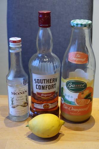 Zutaten für Comfort Sour