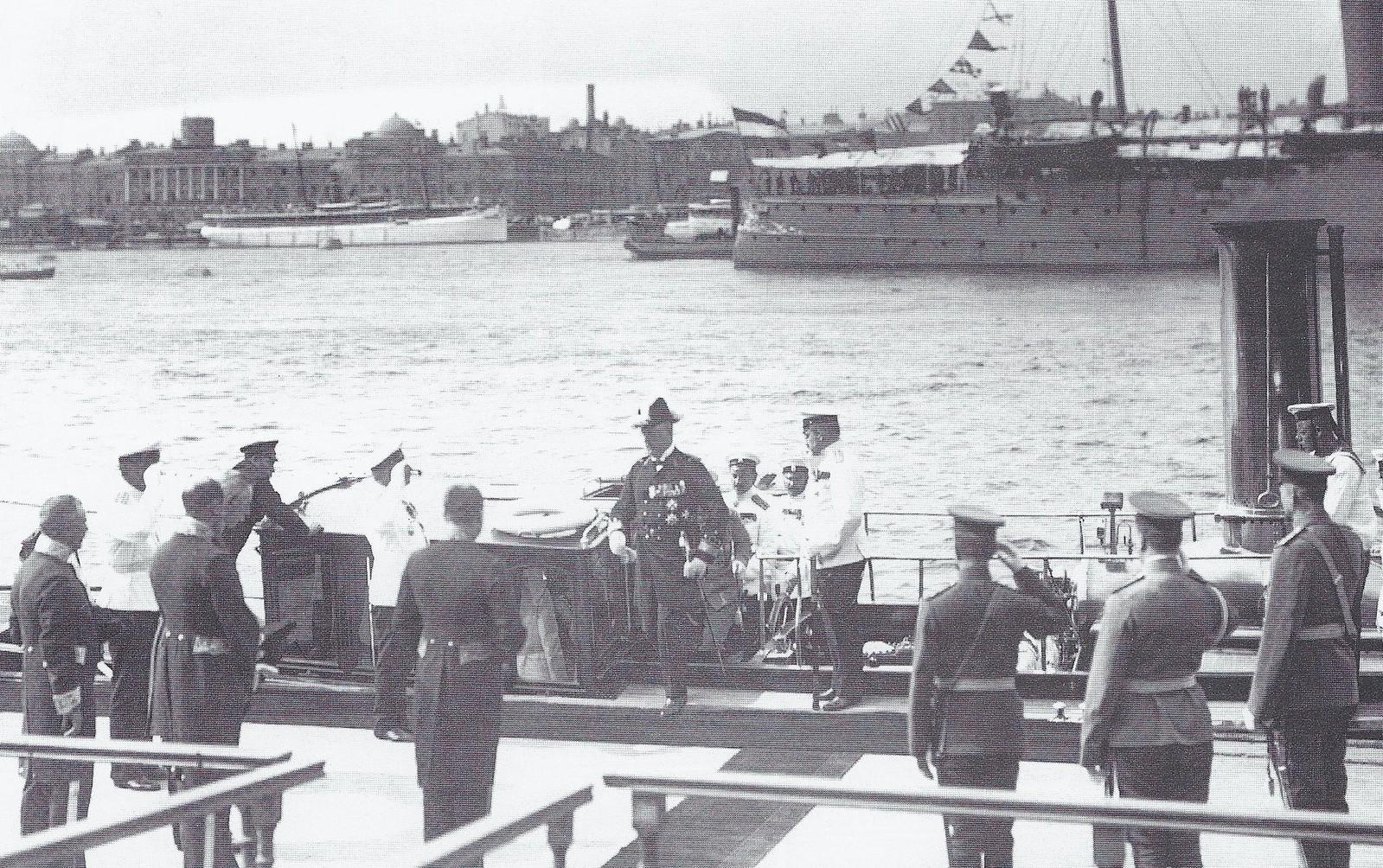 1914. Встреча принца Генриха Нидерландского. 28 июня