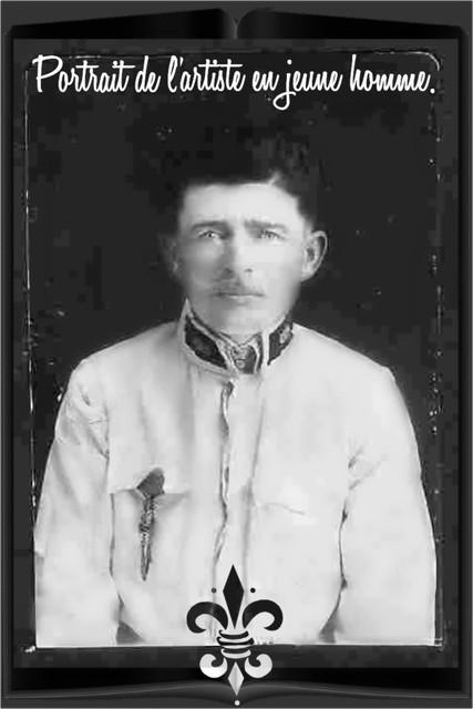Portrait de l'artiste en jeune homme.
