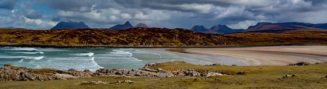 Inverpolly peaks -Cul Mor, Stac Pollaidh, Cul Beag, Ben Mor Coigach