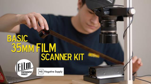 Scan Your 35mm Film using Basic DSLR Scanner Kit!