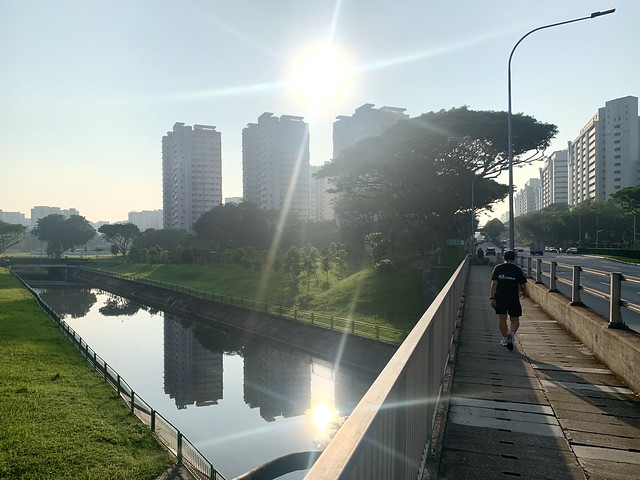 View from Ang Mo Kio Avenue 5 Singapore, 13 May 2021.  IPhone XR.