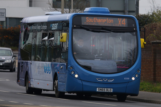 SN65 OLO, Southampton Road, Cosham, April 10th 2021
