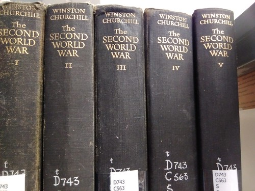 The first five volumes