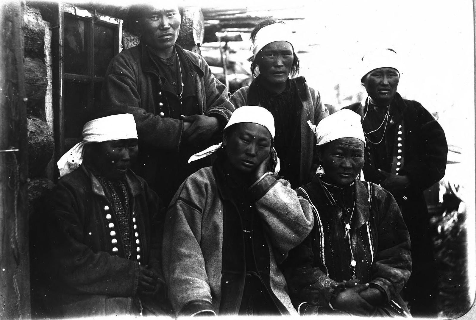 Якутские женщины.