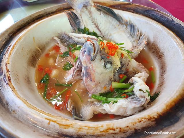 Restaurant Kari Ikan Liew broga jiao zai pot