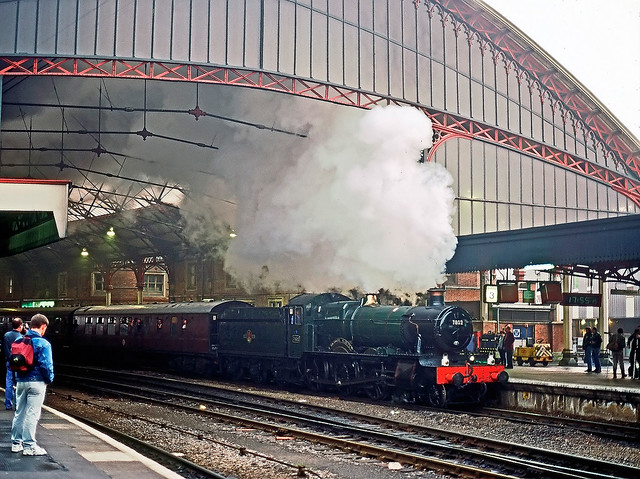 7802, Bristol Temple Meads, March 1996